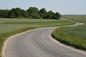 "The Danish, so-called ""Middle Age-roads&q..."