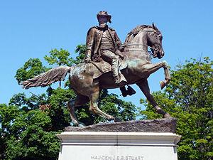 Photograph of Monument Ave., Richmond, VA, sta...