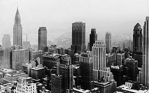 Midtown Manhattan, New York City, from Rockefe...