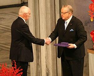 English: Nobel Peace Prize 2008, Martti Ahtisaari