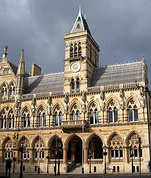 Guildhall in Northampton (England)
