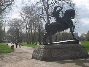 Physical Energy Statue, Kensington Gardens The...