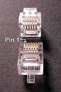 Headset Connector Wiring Conector Modular Wikipedia La Enciclopedia Libre