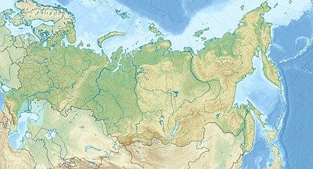 Mappa di localizzazione: Federazione Russa