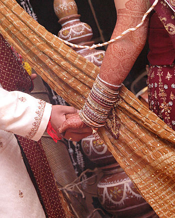 English: Its an epic Indian Wedding story