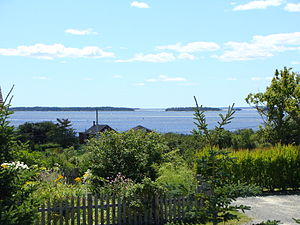 The LaHave Islands From Romkey Hill, Five Houses