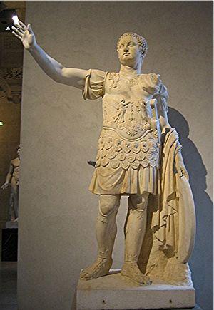 Emperor Titus. Marble, Roman artwork, late 1st...