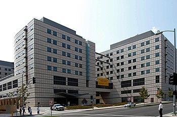 English: The new UCLA Ronald Reagan Medical Ce...