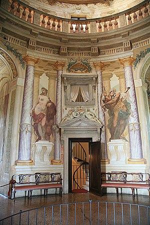 Interior from La Rotunda by Andrea Palladio