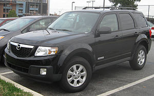 2008 Mazda Tribute photographed in College Par...