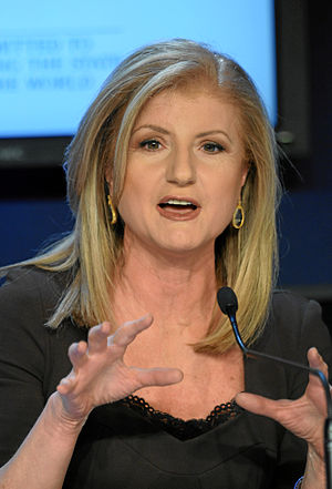 DAVOS/SWITZERLAND, 26JAN11 - Arianna Huffingto...