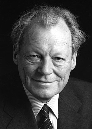Willy Brandt: German Chancellor (1969—1974), M...