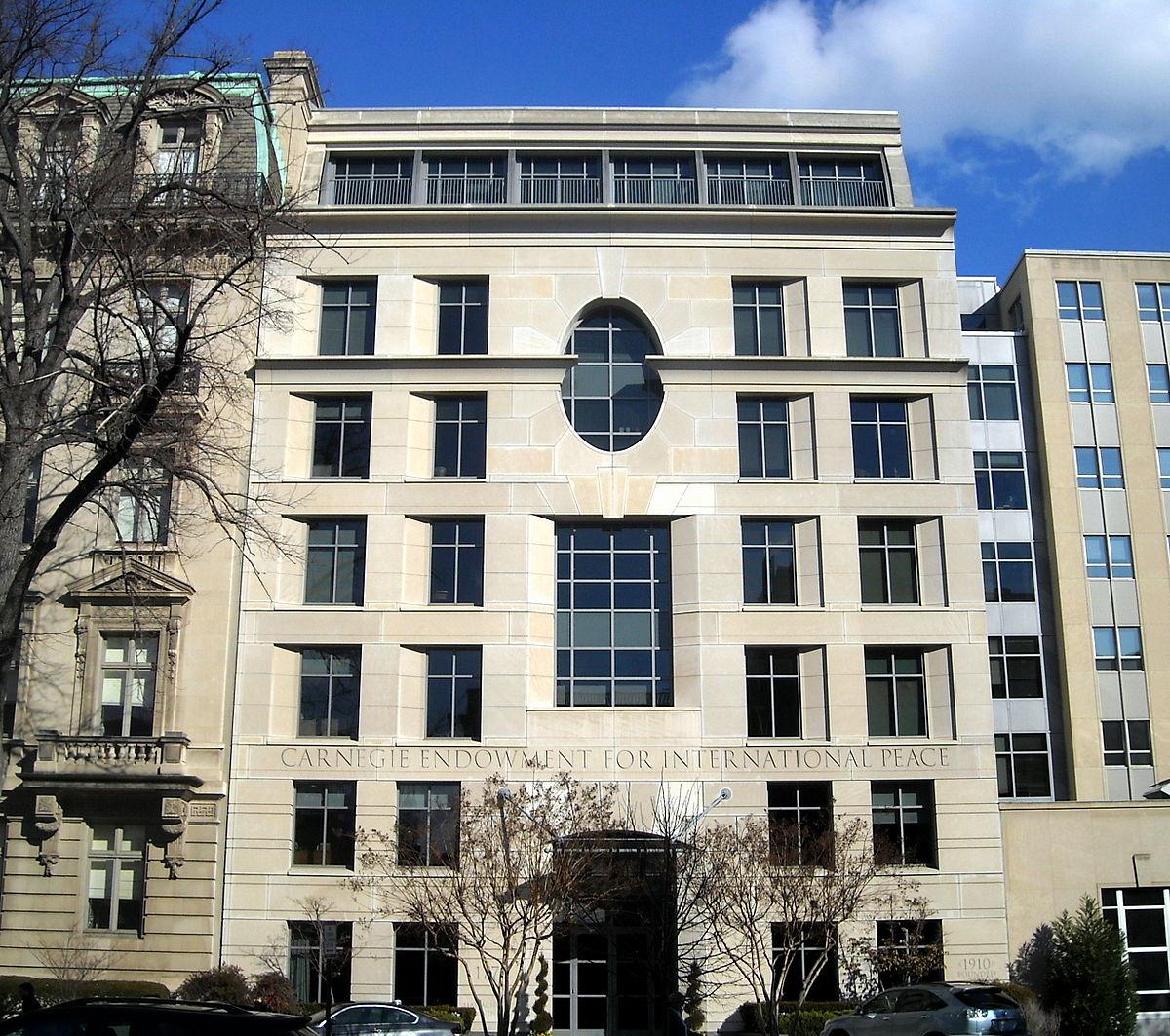 Carnegie Endowment for International Peace  Wikipedia