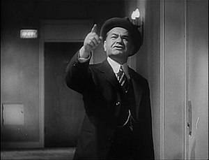 Cropped screenshot of Edward G. Robinson from ...
