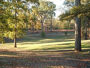 Grant Park in Atlanta, GA, USA