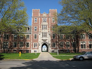 English: Grinnell College Gates Tower