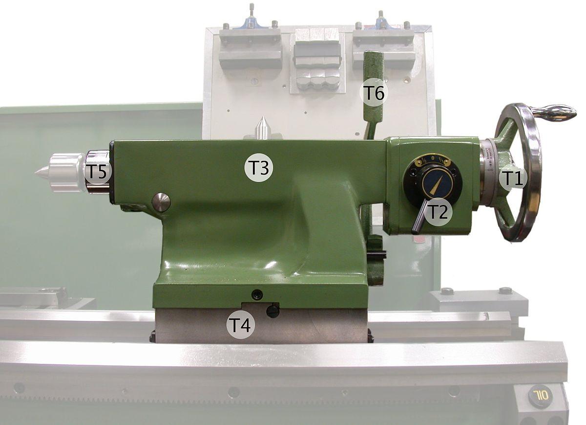 hight resolution of engine lathe part diagram