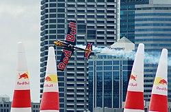 Imagem do avião de Kirby Chambliss, campeão de 2006