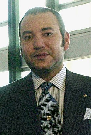 The current King of Morocco, His Majesty Moham...