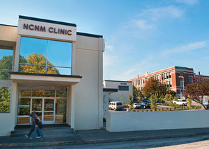 The NCNM Clinic is the primary teaching clinic...