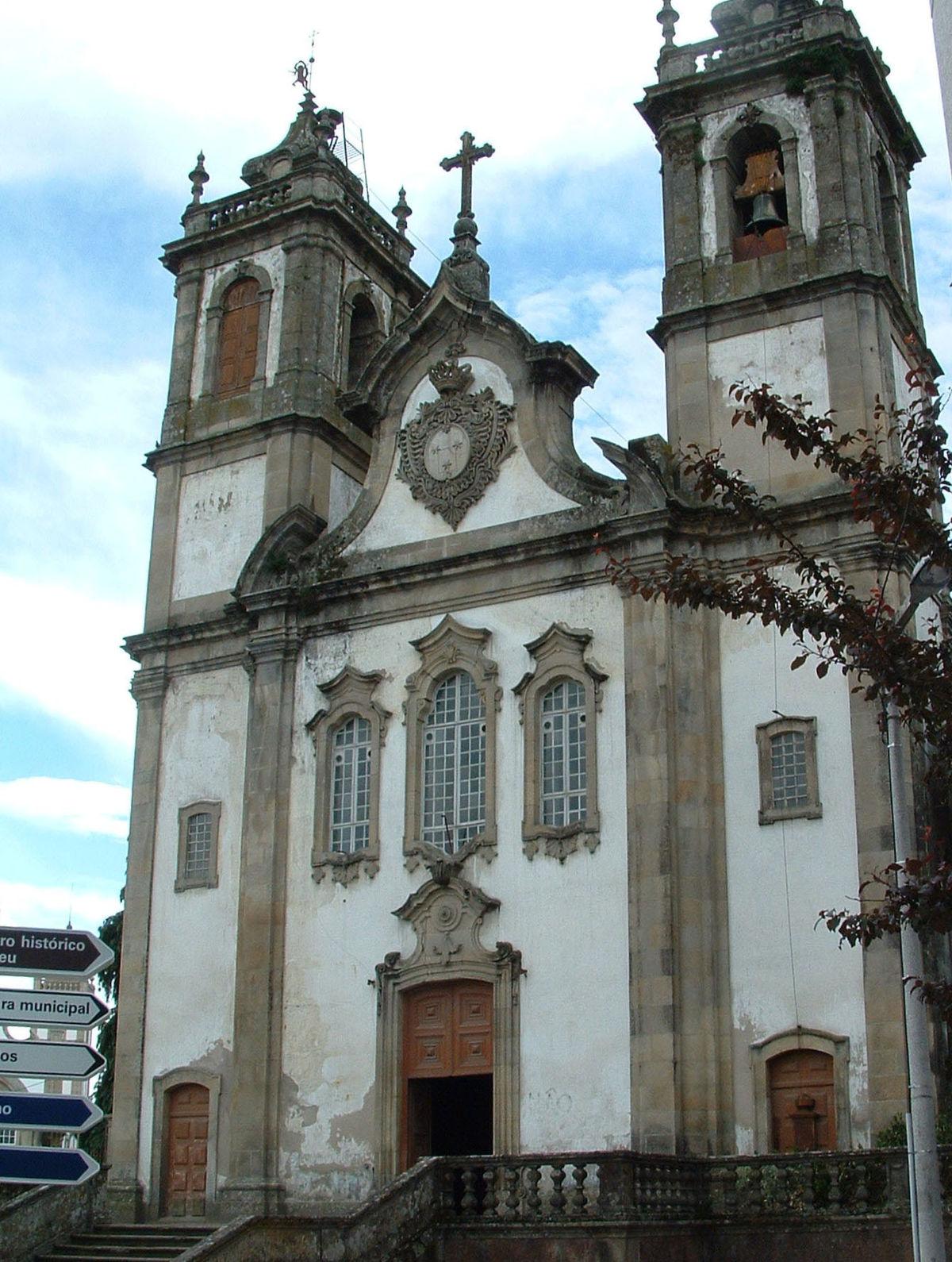 Igreja do Carmo Viseu  Wikipdia a enciclopdia livre
