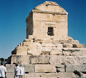 Cyrus' tomb lies in Pasargadae, Iran, a UNESCO...