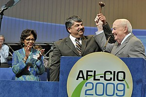 English: Richard Trumka and John Sweeney AFL C...