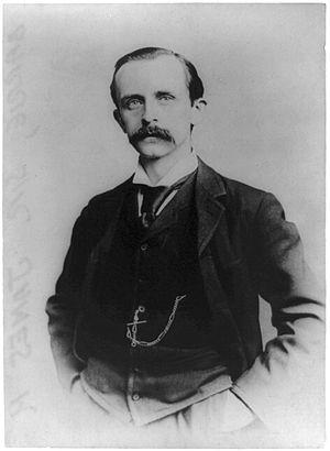 Sir James M. Barrie, author, half-length portr...