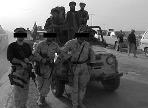 Mazar i Sharif, American Special Forces, Novem...