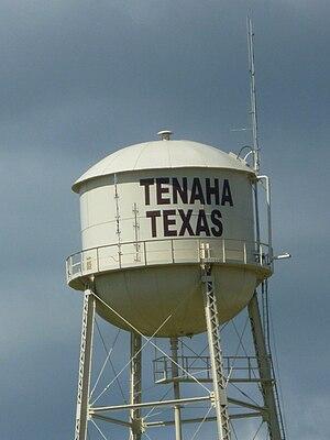 English: Tenaha, Texas Water Tower