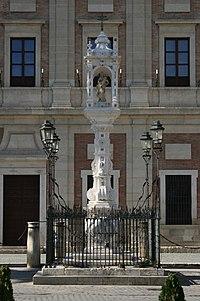 Plaza del Triunfo Sevilla  Wikipedia la enciclopedia libre