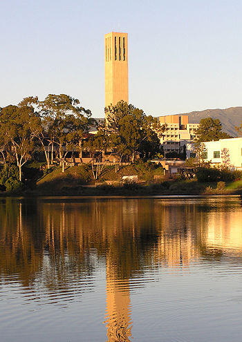 The Storke Tower of UCSB - University of Calif...