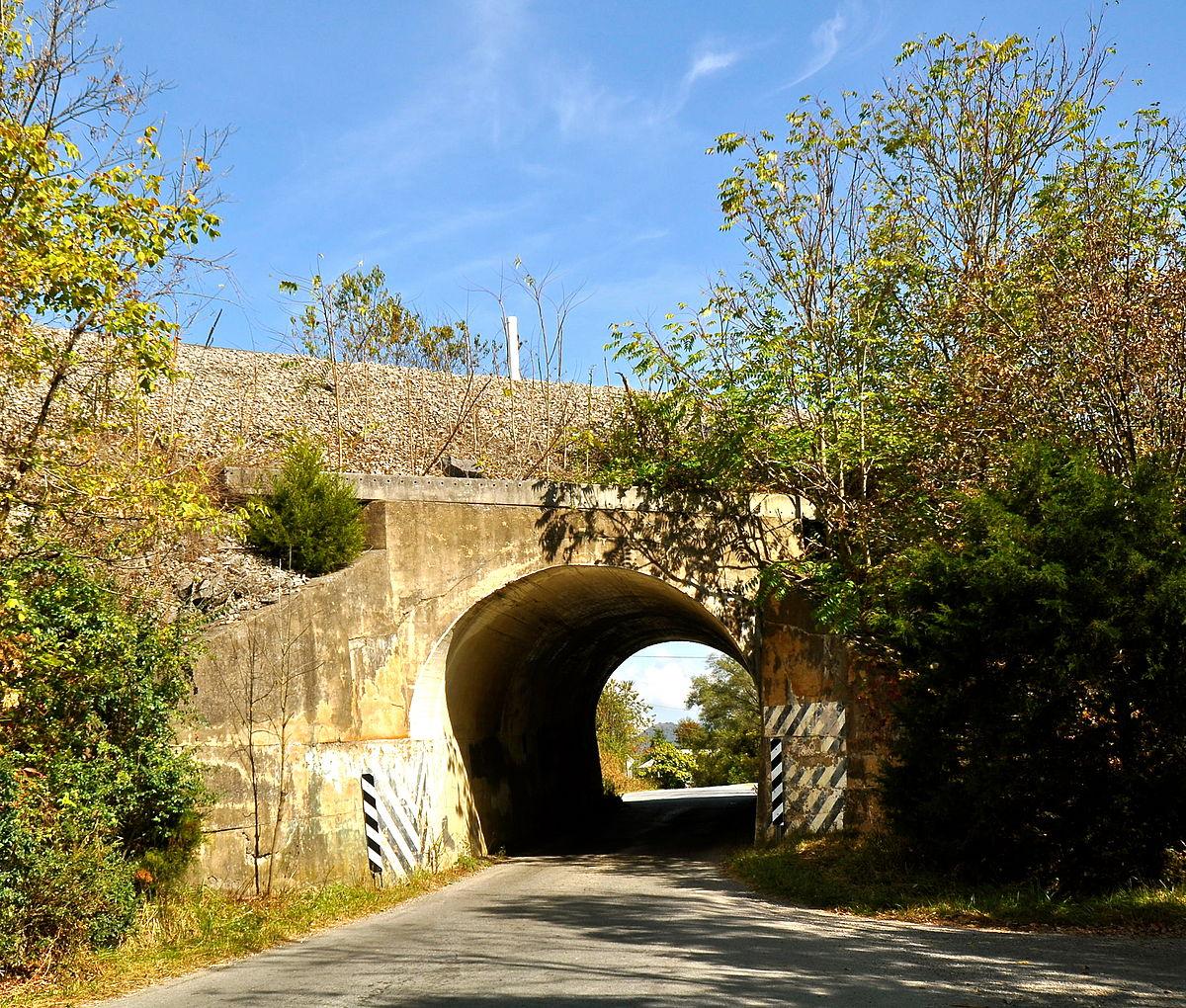 Virginian Railway Underpass  Wikipedia