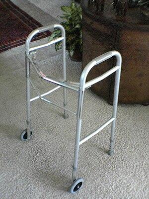 English: Photo of modern-day walker taken Janu...