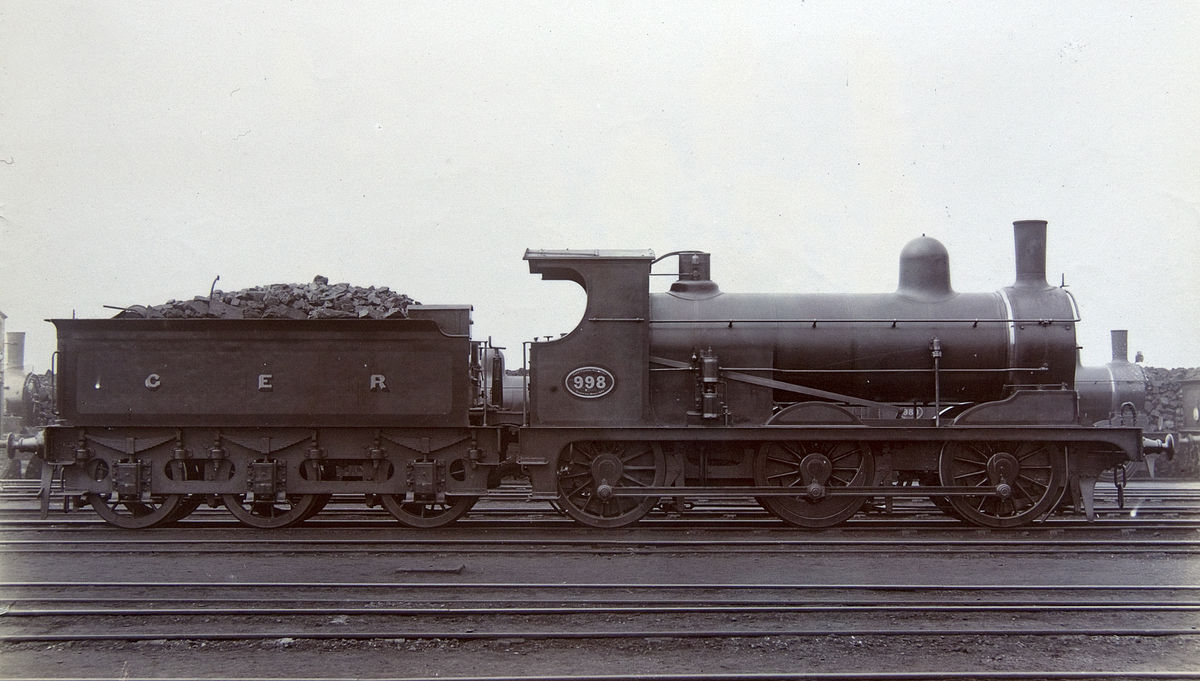 Locomotive 6 Steam 6 2 6