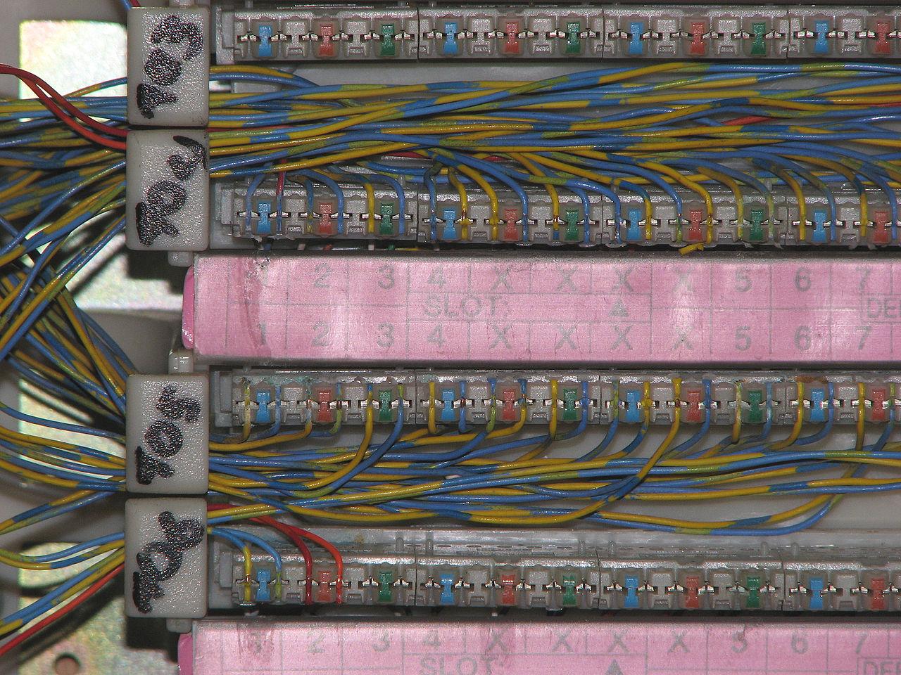 110 Block Rj45 Wiring Diagram File 110 Punch Block Idc 0a Jpg Wikimedia Commons