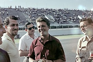 English: The 1957 Argentine GP. Photo by Carlo...