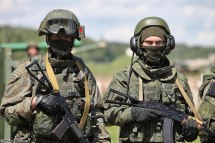 Russian Army Special Forces Soldier