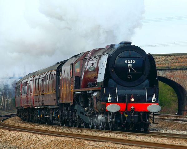Lms Princess Coronation Class 6233 Duchess Of Sutherland