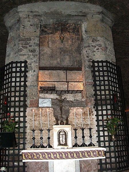 grób św. Franciszka