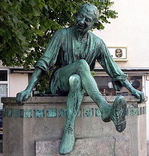 Deutsch: Braunschweig: Detail des Till Eulensp...