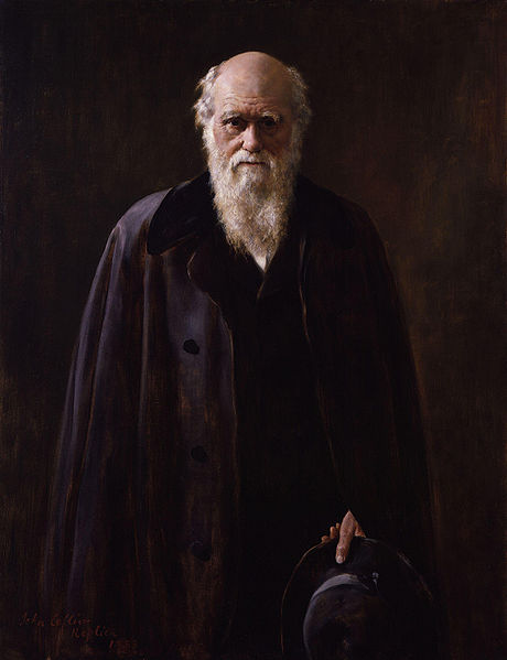 Charles Darwin in 1881, by John Collier