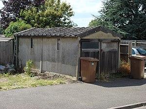 Concrete Garage Sudbury, Suffolk, UK