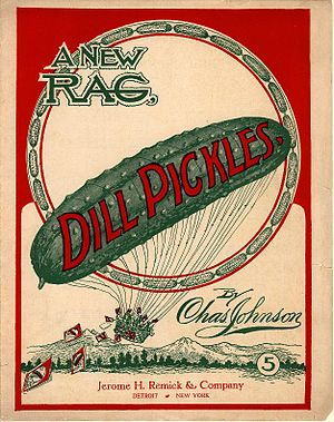 """Dill Pickles"" A New Rag. Sheet musi..."
