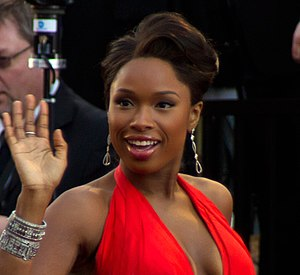 English: Singer and actress Jennifer Hudson at...