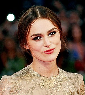 English: Keira Knightley at the 2011 Venice Fi...