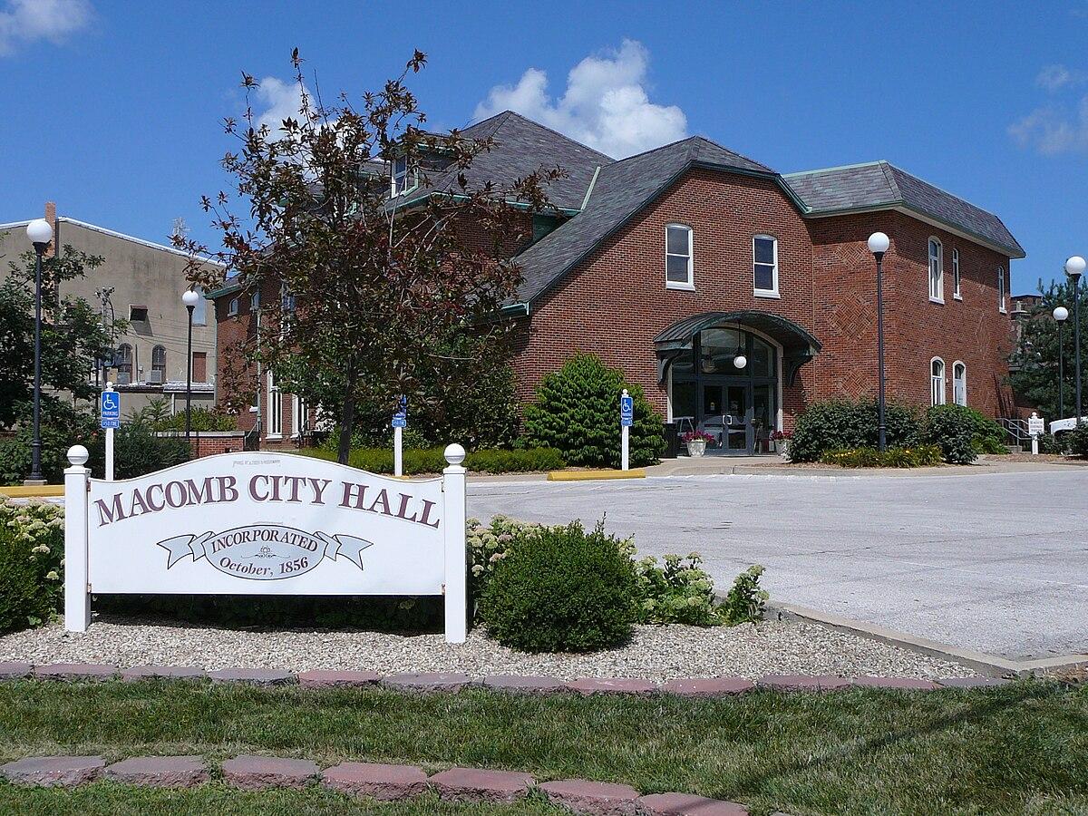 Macomb Illinois Wikimedia Commons