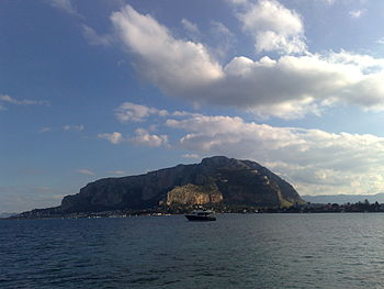 English: Palermo: Monte Pellegrino (Mondello) ...