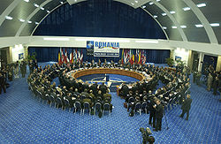 NATO Defence Ministers' Summit in Poiana Braşov, 13-14 October 2004