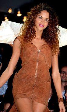 Nomie Lenoir en 2013 au dfil de mode du salon du chocolat